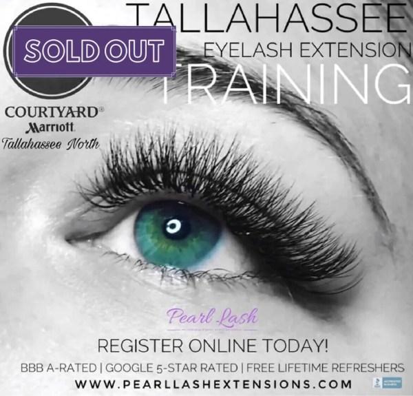 Eyelash Extension Training by Pearl Lash Tallahassee