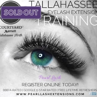 Eyelash Extension Training by Pearl Lash Tallahassee