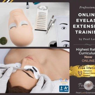 Online Eyelash Extension Training by Pearl Lash