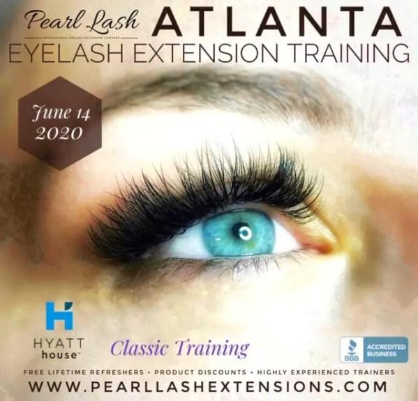 Atlanta Eyelash Extension Training and Certification by Pearl Lash