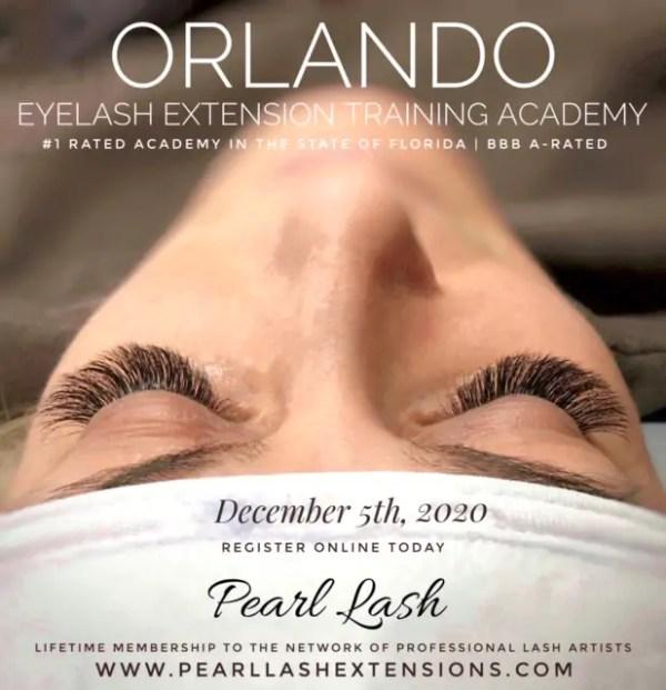 Eyelash Extension Classic Training Orlando by Pearl Lash