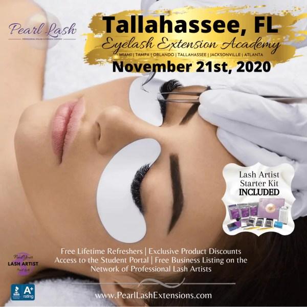 Eyelash Extension Classic Training Tallahassee by Pearl Lash
