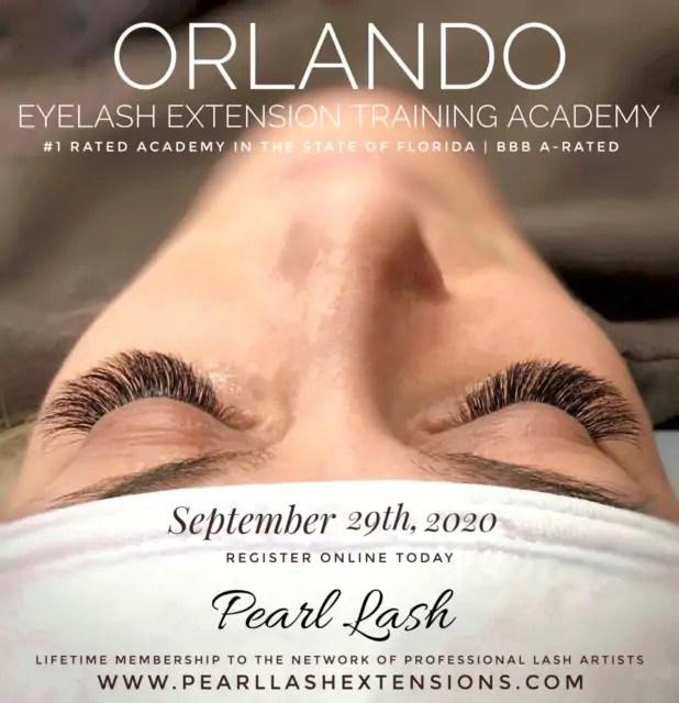 Classic Eyelash Extension Training by Pearl Lash Orlando