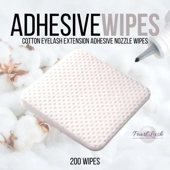 Adhesive Wipes by Pearl Lash