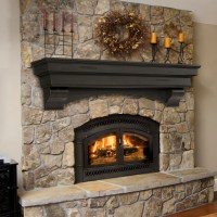 Wood Mantel With Corbels | Tyres2c