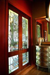 Doors and Vase