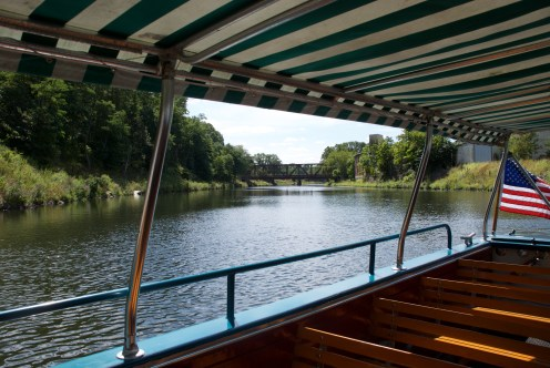 Hop on one of the river cruises if you can.