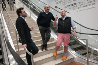 The passion for this project is palpable. Eataly Boston with Mario Batali.