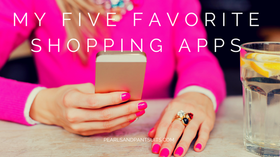 My Five Favorite Shopping Apps