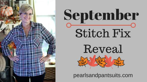 September Stitch Fix Reveal!