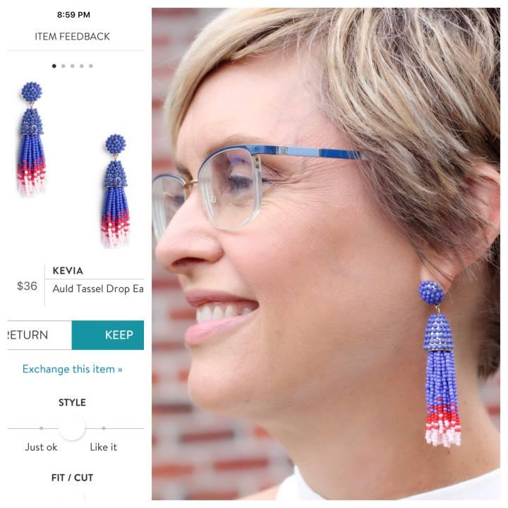 Kevia Auld Tassel Drop Earrings