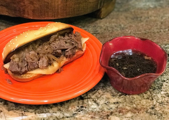 Instant Pot French Dip Beer Sandwiches