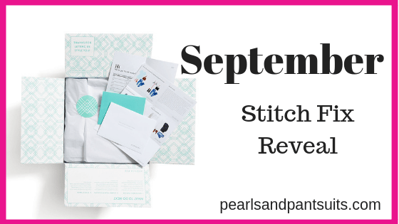 September Stitch Fix Reveal