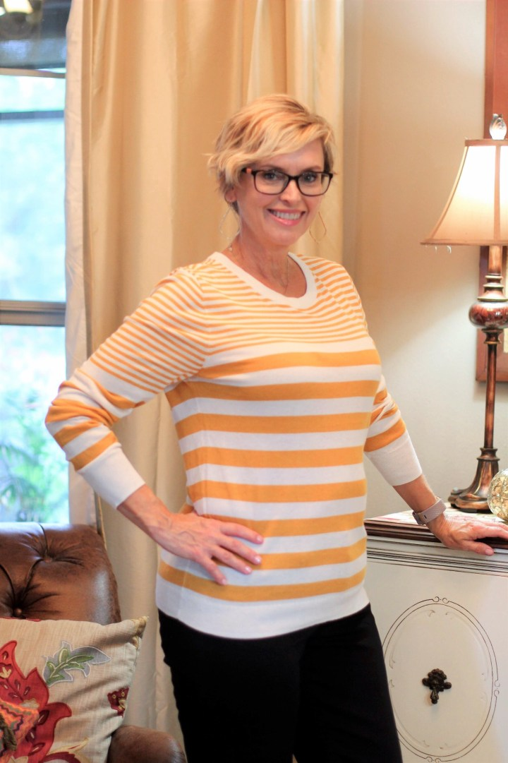 Stitch Fix Market & Spruce Striped Pullover