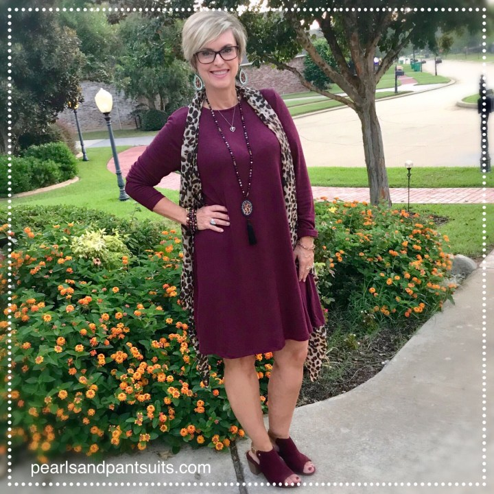 How to style an Old Navy Dress