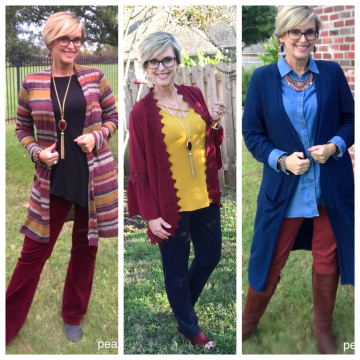 How to wear cardigans