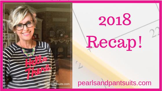 Recap! What I Wore in 2018