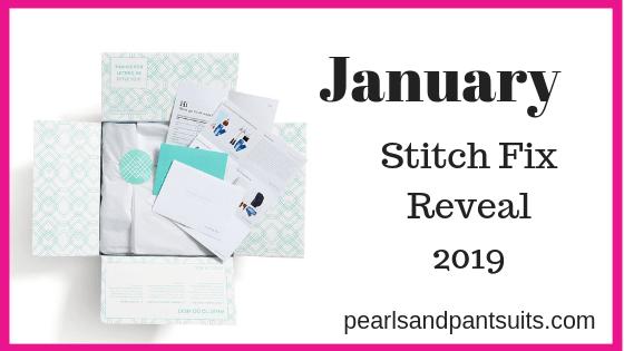 January Stitch Fix Reveal