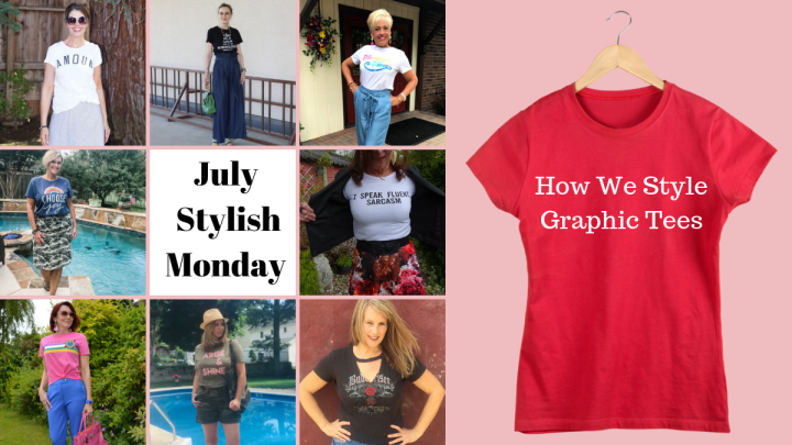 July Stylish Monday – How We Style Graphic Tees