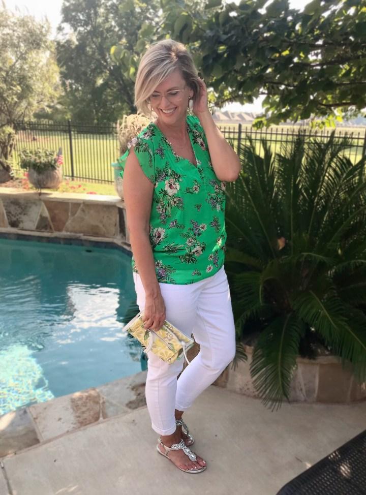 DANIEL RAINN Veronika Pleated Detail Blouse | Stitch Fix