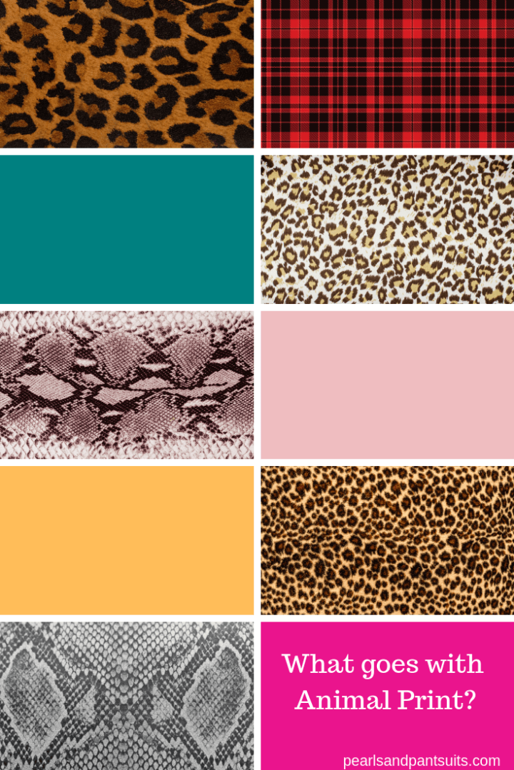 How to mix and match animal prints