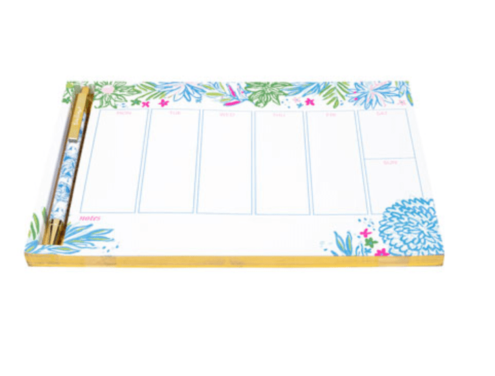Lilly Pulitzer Weekly Desk Pad