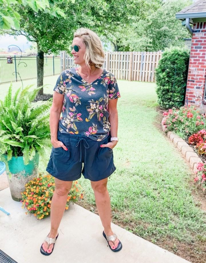 Old navy Floral Shirt | Old Navy shorts