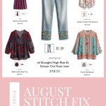 August Stitch Fix Reveal | Boho Style