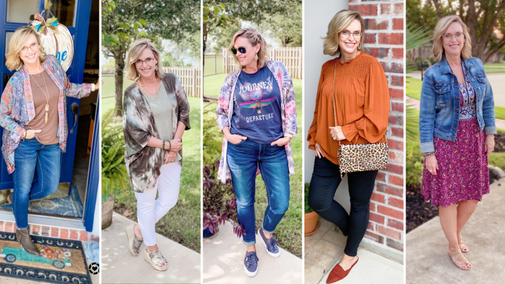 Fall Fashion Recap for September | Fashion Over Fifty | Pearls and Pantsuits