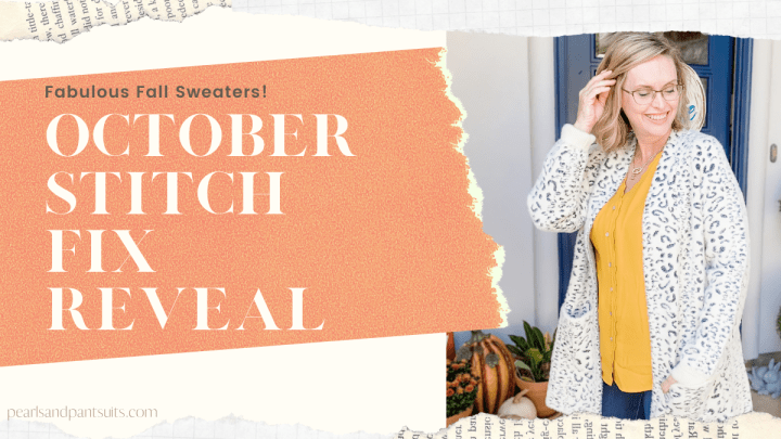 October Stitch Fix Reveal | Fall Sweaters & More