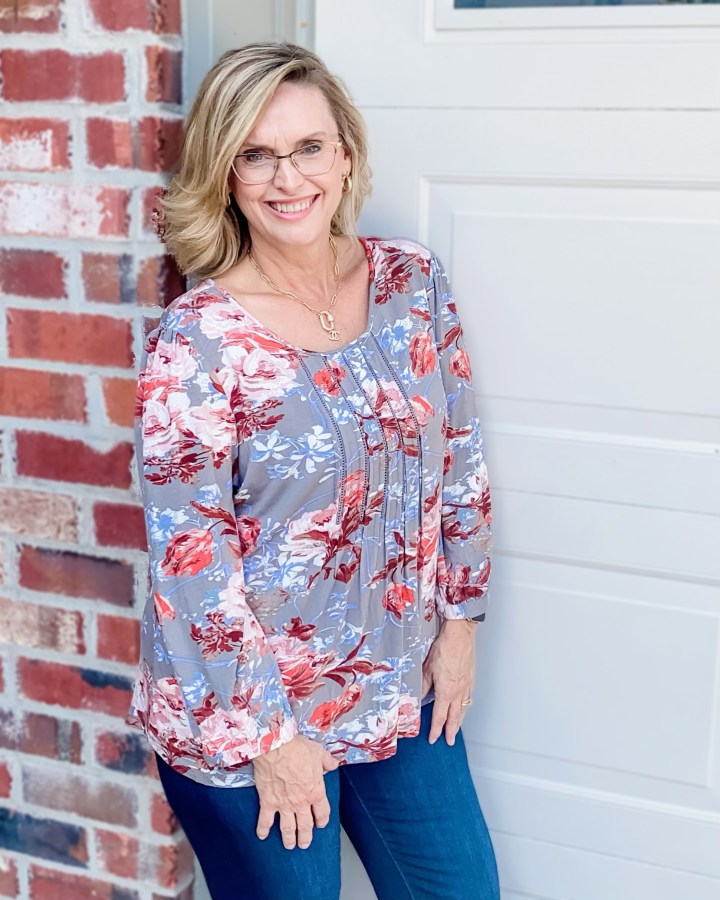 October Stitch Fix Reveal | Daniel Rainn knit top