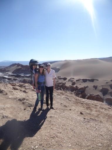 Valle de la Luna did feel otherworldly.
