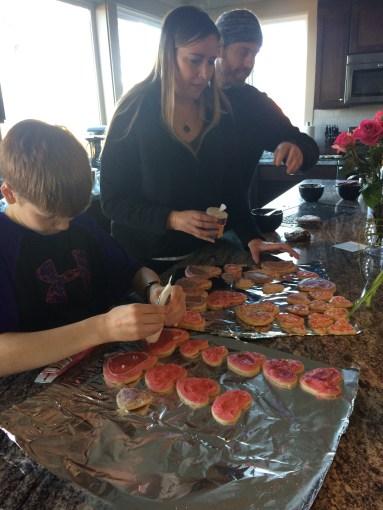 Birthday cookies for cousin Derek!