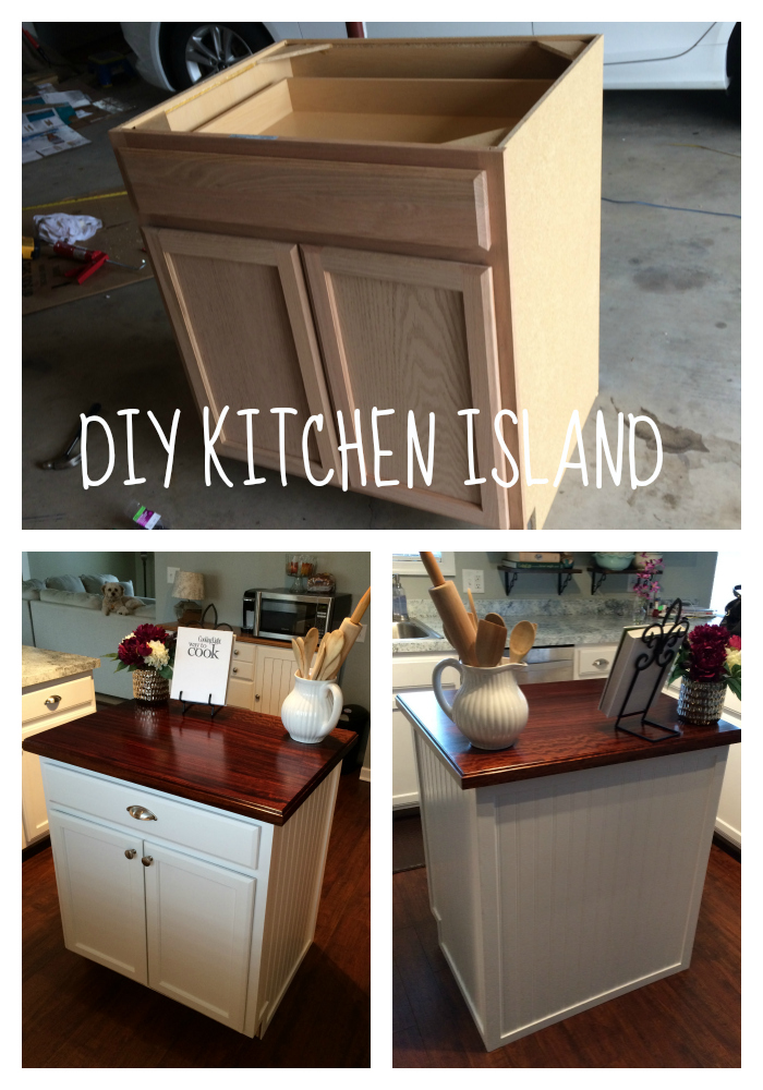 DIY Kitchen Island  Life in Pearls and Sports Bras