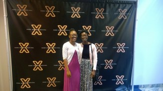 Visit to Elevation church for the Code Orange Revival with my friend Debbie