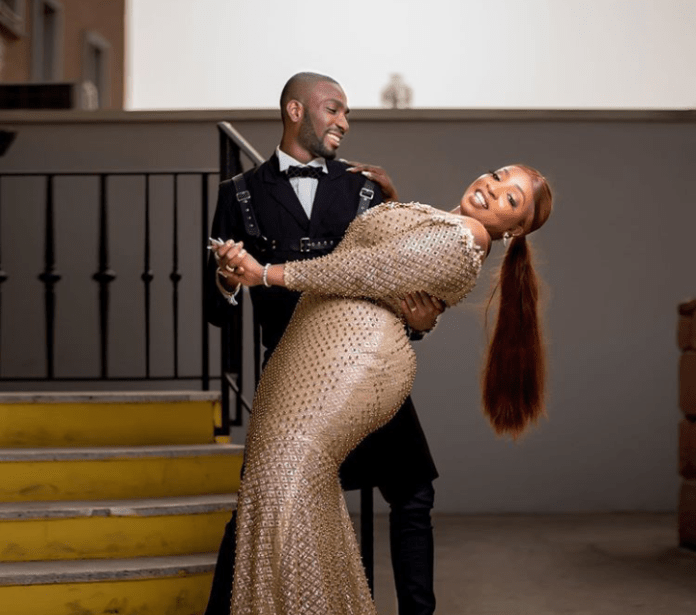 """Dark, plus sized Nollywood actress Anita Joseph, who last weekend had a very low key wedding with her boo, Michael Fisayo aka MC Fish is out for trolls. The curvy actress had announced her wedding two weeks ago with lovely pre-wedding photos and kept to her words, walked down the aisle in a private ceremony in Lagos state. While some online bullies are predicting that Anita Joseph's marriage to a 'Yoruba Demon' would not last because she is an Anambra State born Igbo girl, the movie star has a word for the naysayers. """"If you're so bitter with Life don't blame anyone .. Please don't come to my page to to Advise me on how to Live"""" My page is for good vibes only"""" If my page doesn't make you smile (HAPPY) Then you have a Deep spritual problem... Na palm oil 7bottles and hypo 7packs them go use baf you 😳7times ... because 7 is a divine no 👋"""" she wrote on her Instagram page."""