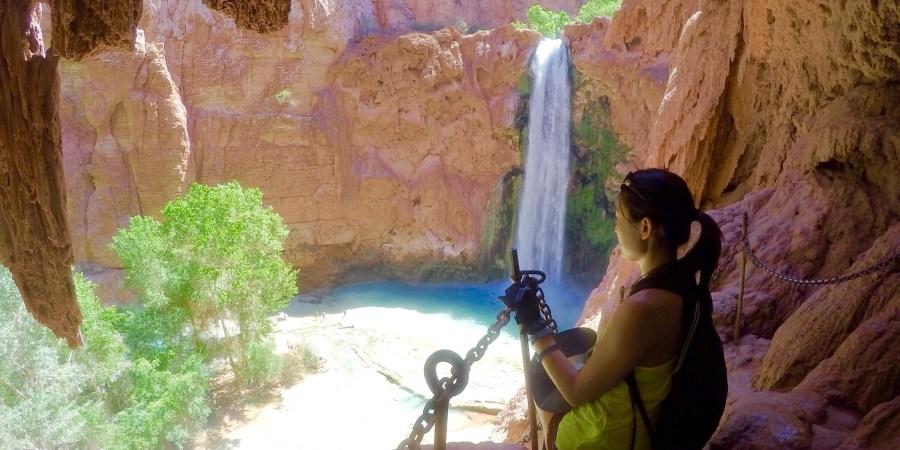 how to get to mooney falls arizona
