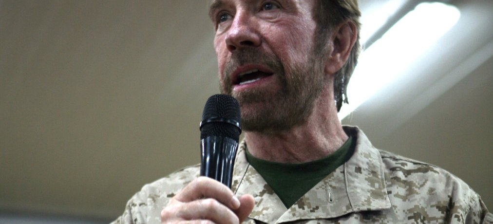 Chuck Norris so strong for Jesus