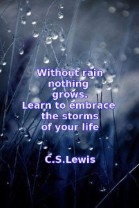 Bless the Lord, all rain and dew…