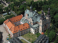Cistercian Abbey in Ląd, Poland