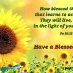 Blessed nation (BL)