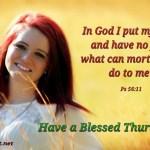 In God I put my trust (BL)