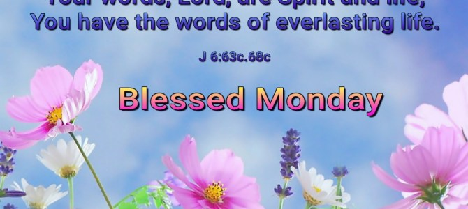 Your words, Lord (BL)