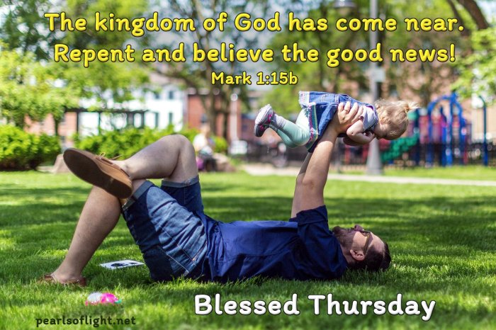 The kingdom of God has come near…