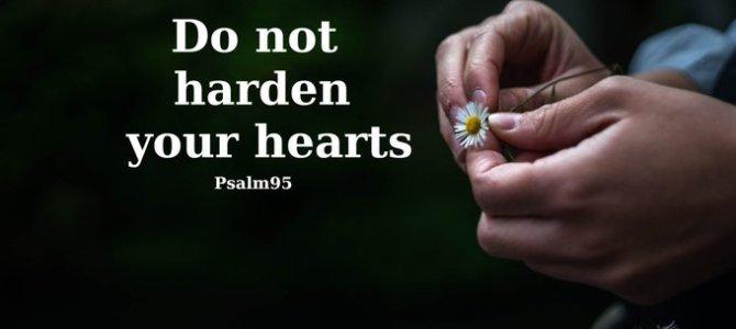 Let God change your heart