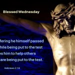 He helps us when we are being put to the test (BL)