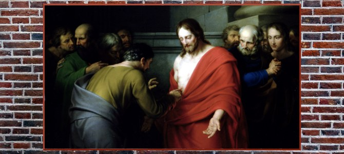 """Thomas said to him, """"My Lord and my God!"""""""