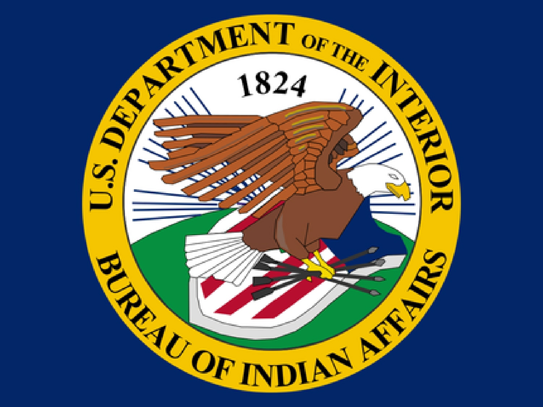 Department Of Interior Bureau Of Indian Affairs