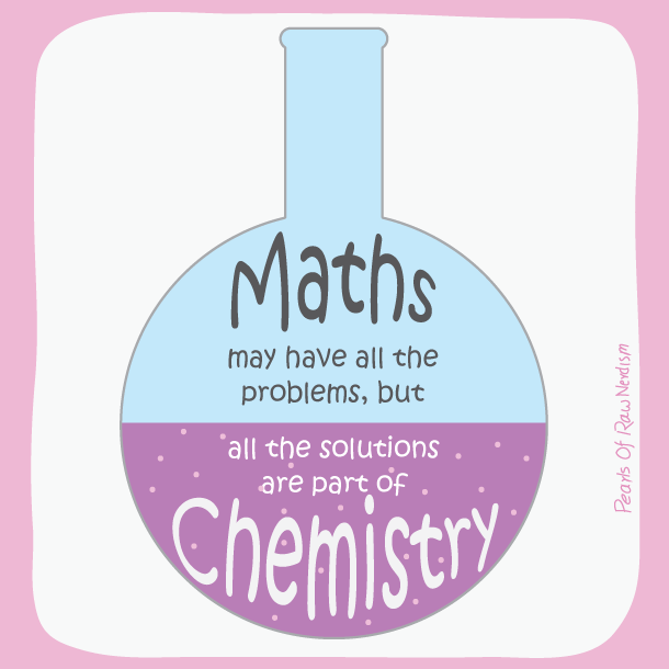 maths vs chemistry