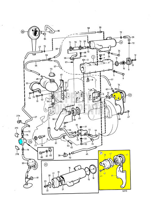 MD11 Fresh Water Pump Repair